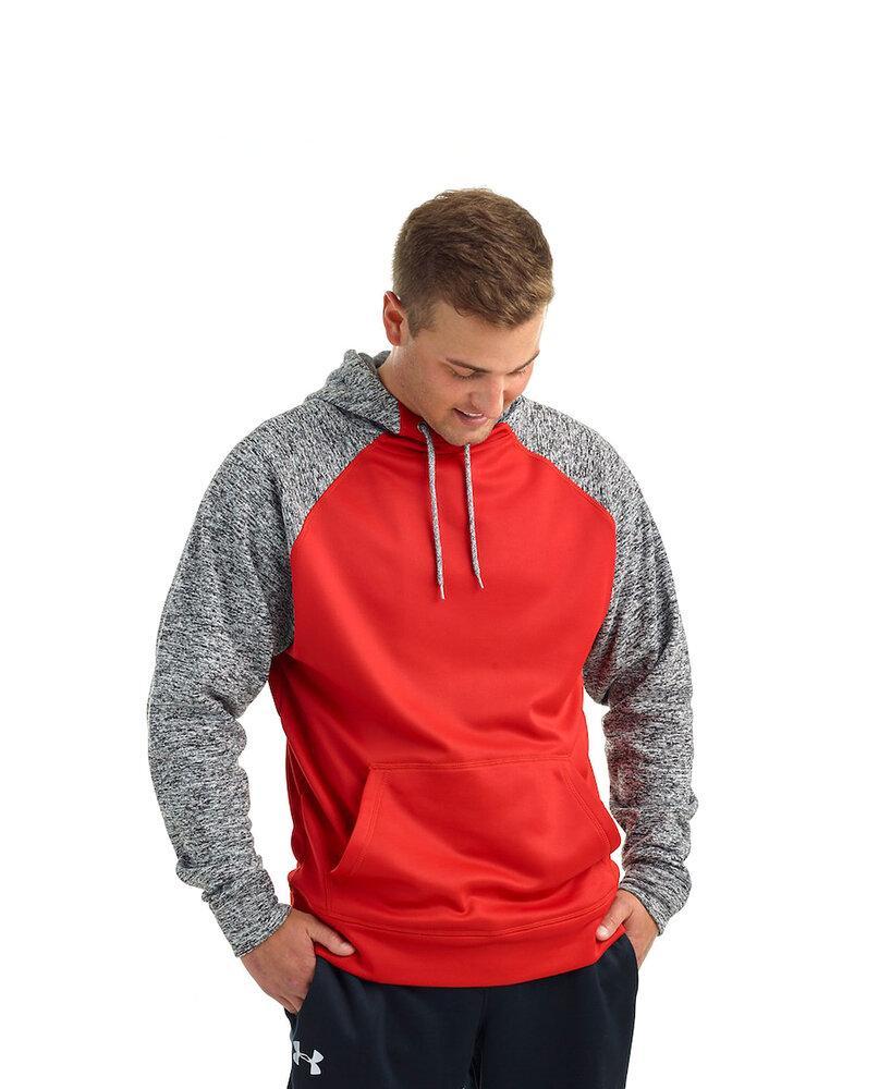 J. America JA8612 - Adult Cosmic Colorblock Pullover Hood