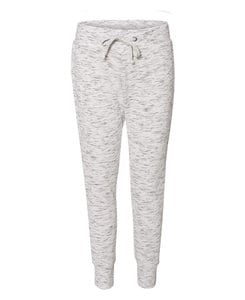 J. America JA8675 - Ladies Melange Fleece Jogger Pant