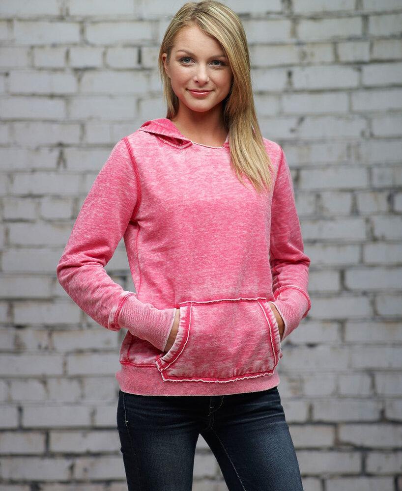 J. America JA8912 - Ladies' Zen Pullover Hood