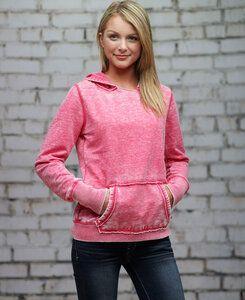 J. America JA8912 - Ladies Zen Pullover Hood