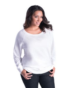LAT LA3862 - Ladies Curvy Slouchy French Terry Pullover