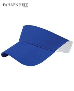 Liberty Bags F367 - Fahrenheit Performance Visor with Mesh Back Cap