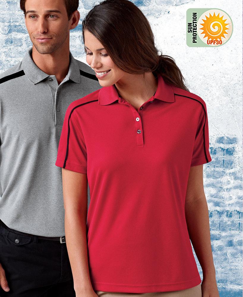 Paragon SM0114 - Ladies'' Mesh Shoulder Trim Sport Shirt