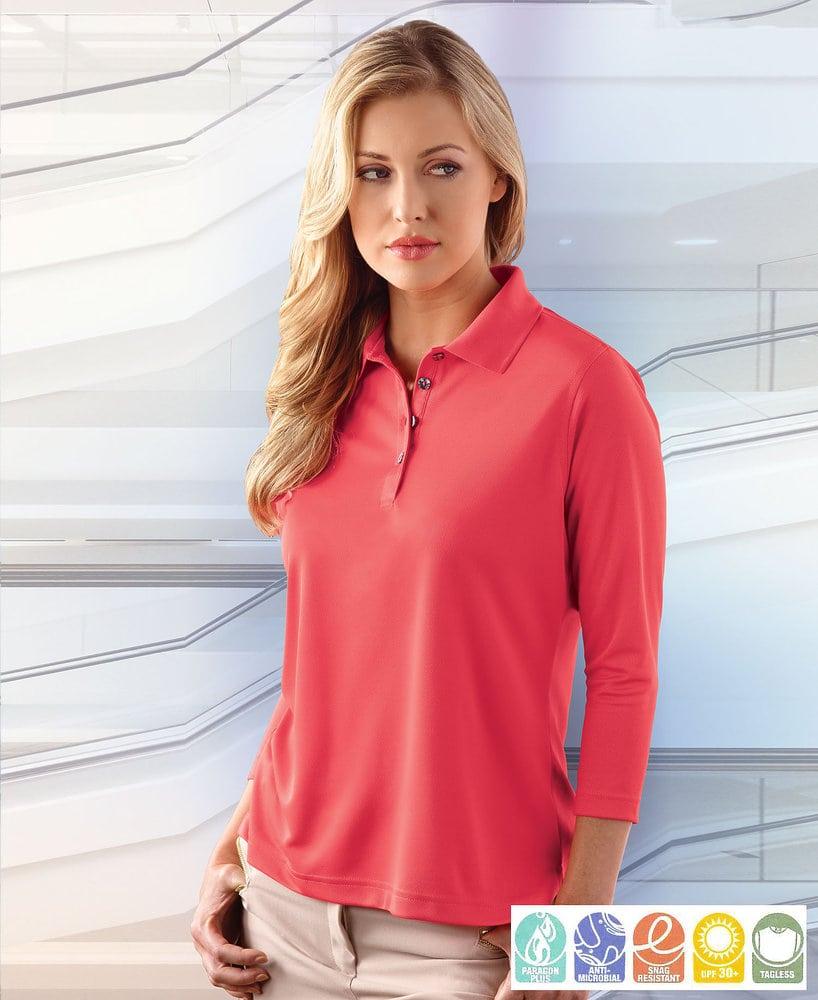 Paragon SM0120 - Ladies' 3/4 Sleeve Sport Shirt