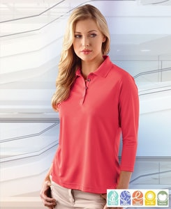 Paragon SM0120 - Ladies 3/4 Sleeve Sport Shirt