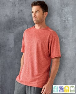 Paragon SM0212 - Adult Heathered Performance Tee