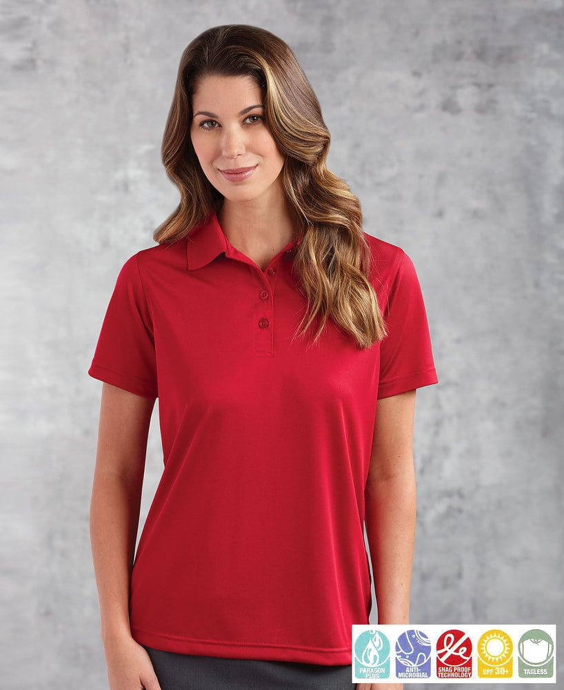 Paragon SM4002 - Ladies' SNAG-PROOF Performance Microfiber Polo