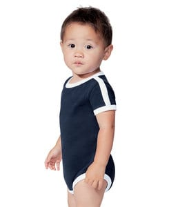 Rabbit Skins LA4432 - Infant Soccer Ringer Bodysuit