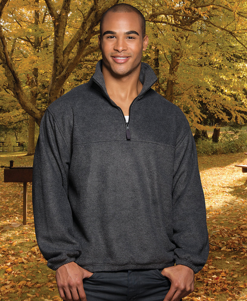 Sierra Pacific SP3051 - Sierra Pacific Adult Pullover 1/4 Zip Polar Fleece