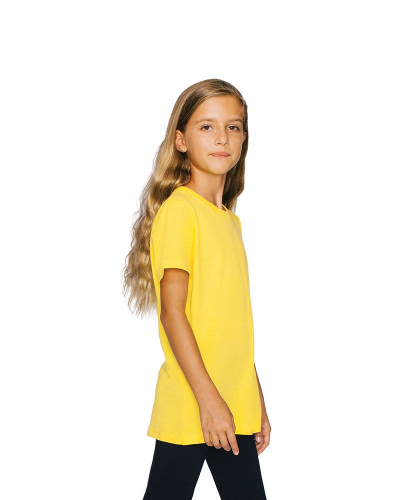 American Apparel AA2201W - Youth Fine Jersey Tee