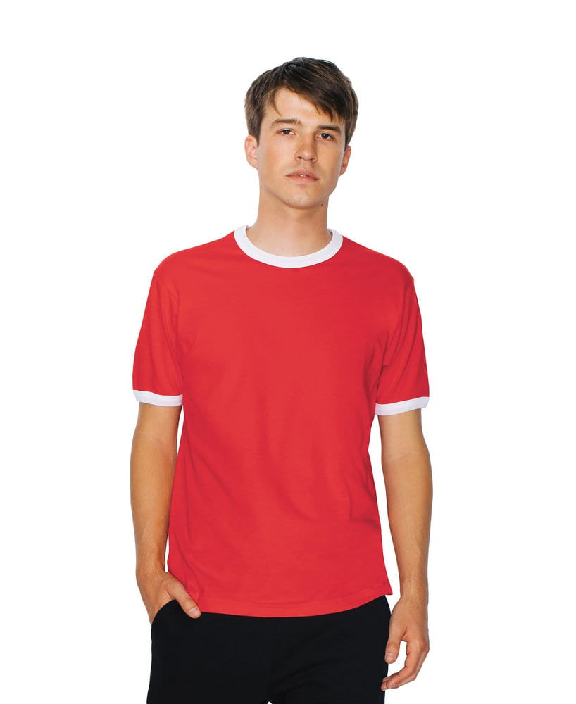 American Apparel AA2410W - Remera unisex de jersey fino