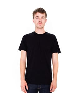 American Apparel AABB401 - Unisex USA Poly/Cotton Crew Neck Tee