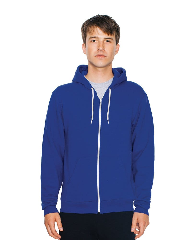 American Apparel AAF497W - Unisex Flex Fleece Zip Hooded Sweatshirt