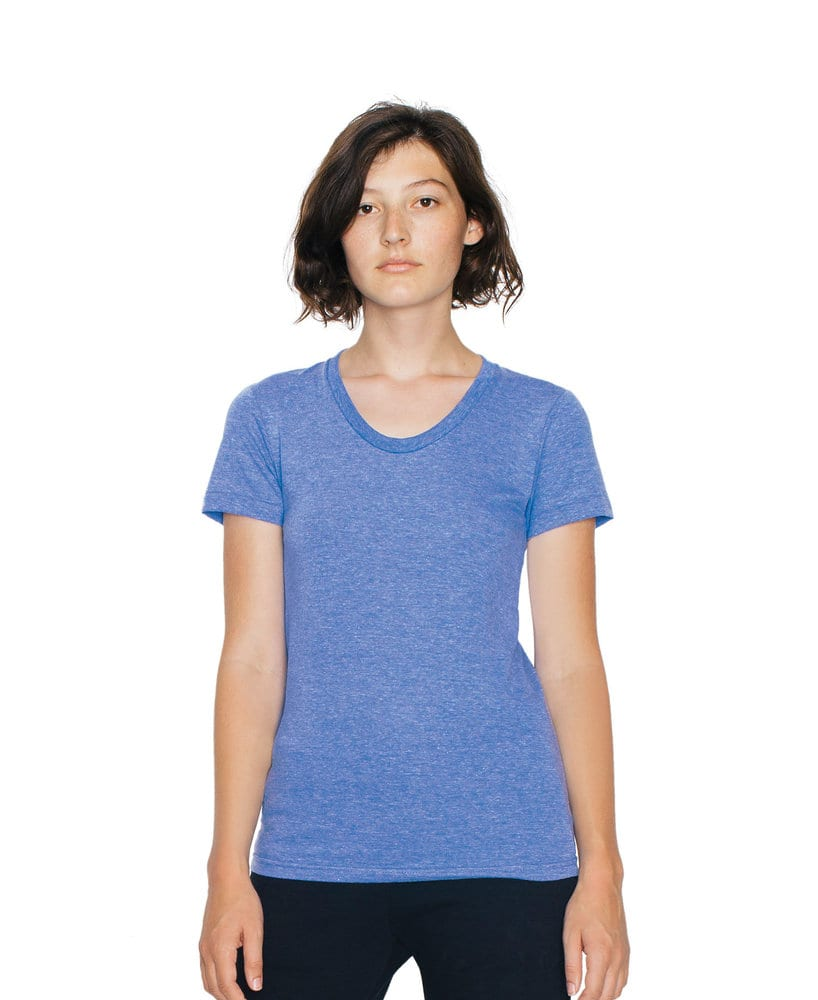 American Apparel AATR301W - Women's Tri-Blend Crew Neck Tee