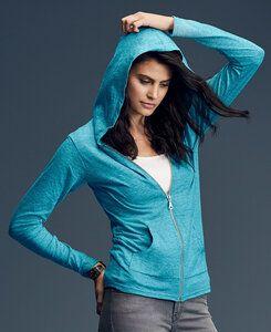 Anvil A6759L - Womens Tri-Blend Full Zip Hooded Jacket