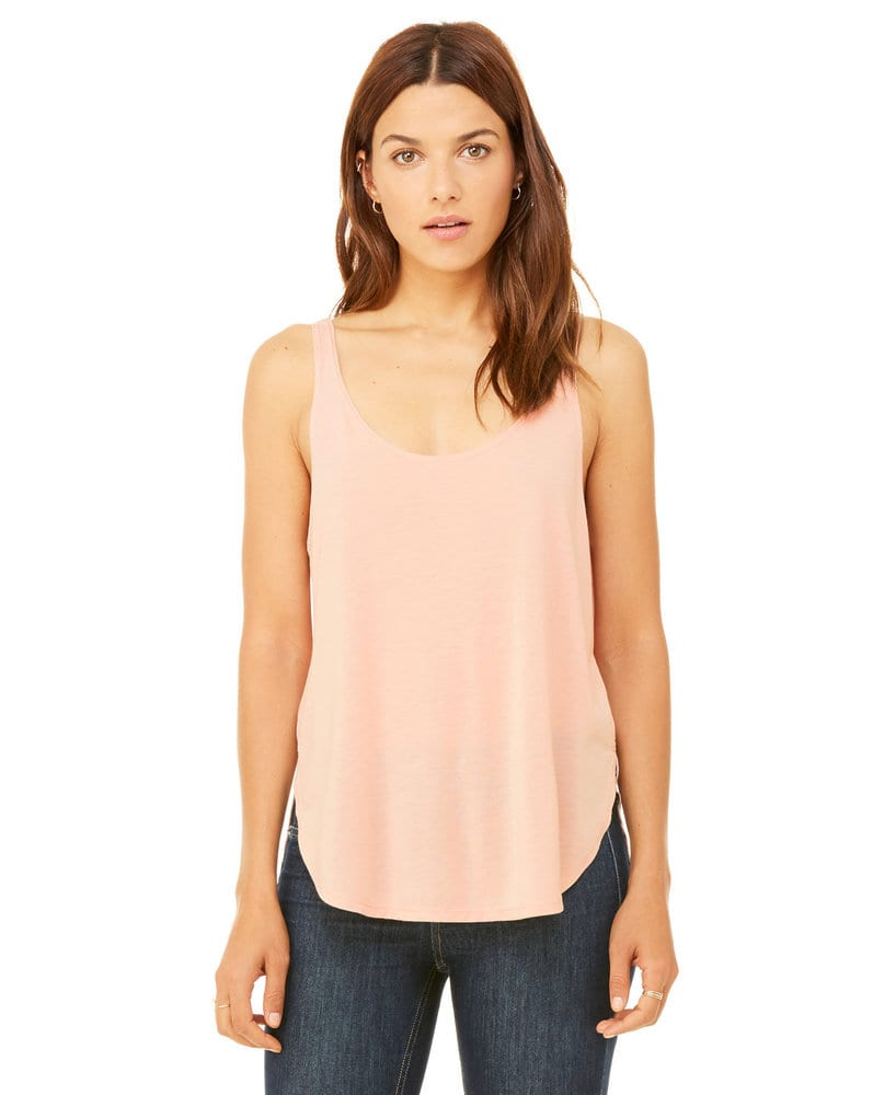 BELLA+CANVAS B8802 - Women's Flowy Side Slit Tank