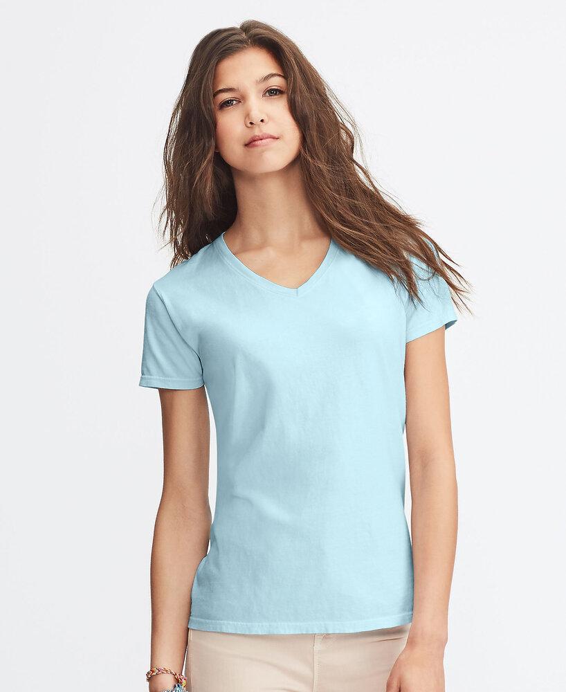 Comfort Colors CC3199 - Remera con cuello en V de ringspun para mujeres