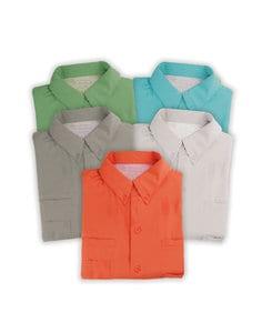 Hilton ZP2297 - Outdoor By Adult BAJA Short Sleeve Fishing Shirt