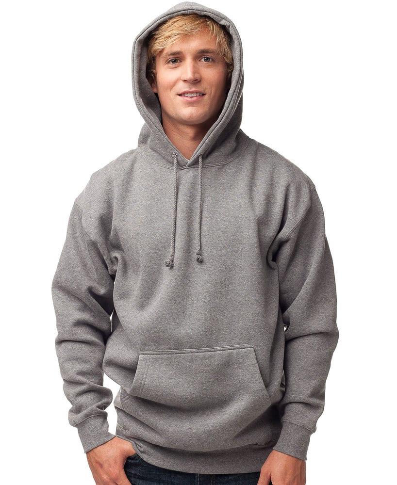 Independent Trading Co. IND400 - Buzo con capucha Heavyweight de lana para adultos