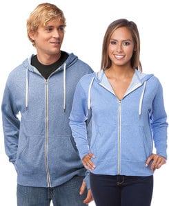 Independent Trading Co. PRM90H - Buzo con capucha de felpa con cierre y felpa francesa de peso medio para adultos