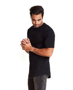 Next Level NL3602 - Remera larga con cuello redondo de algodón para hombre