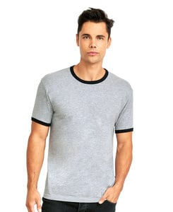 Next Level NL3604 - Mens Premium Fitted Cotton Ringer Tee