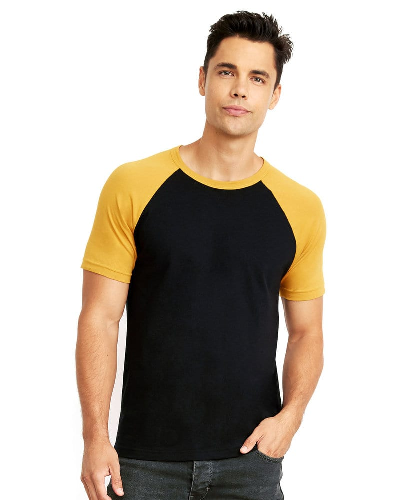 Next Level NL3650 - Adult Cotton Raglan Tee