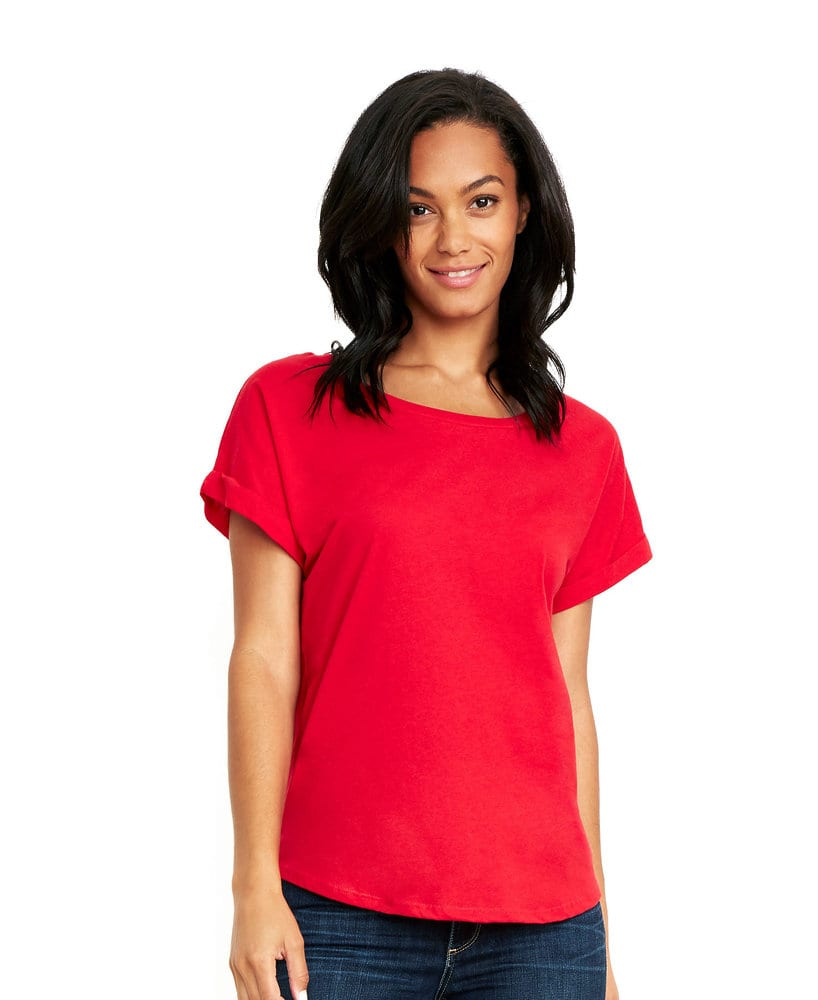 Next Level NL6360 - Women's Roll Sleeve Dolman