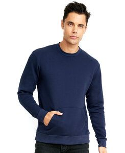 Next Level NL9001 - Unisex Fleece Crew with Pocket