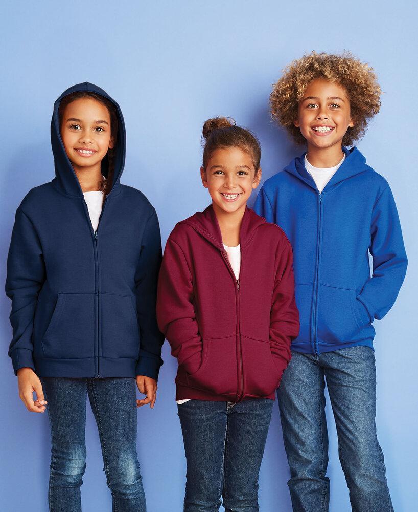 Next Level NL9103 - Youth Fleece Full Zip Hood