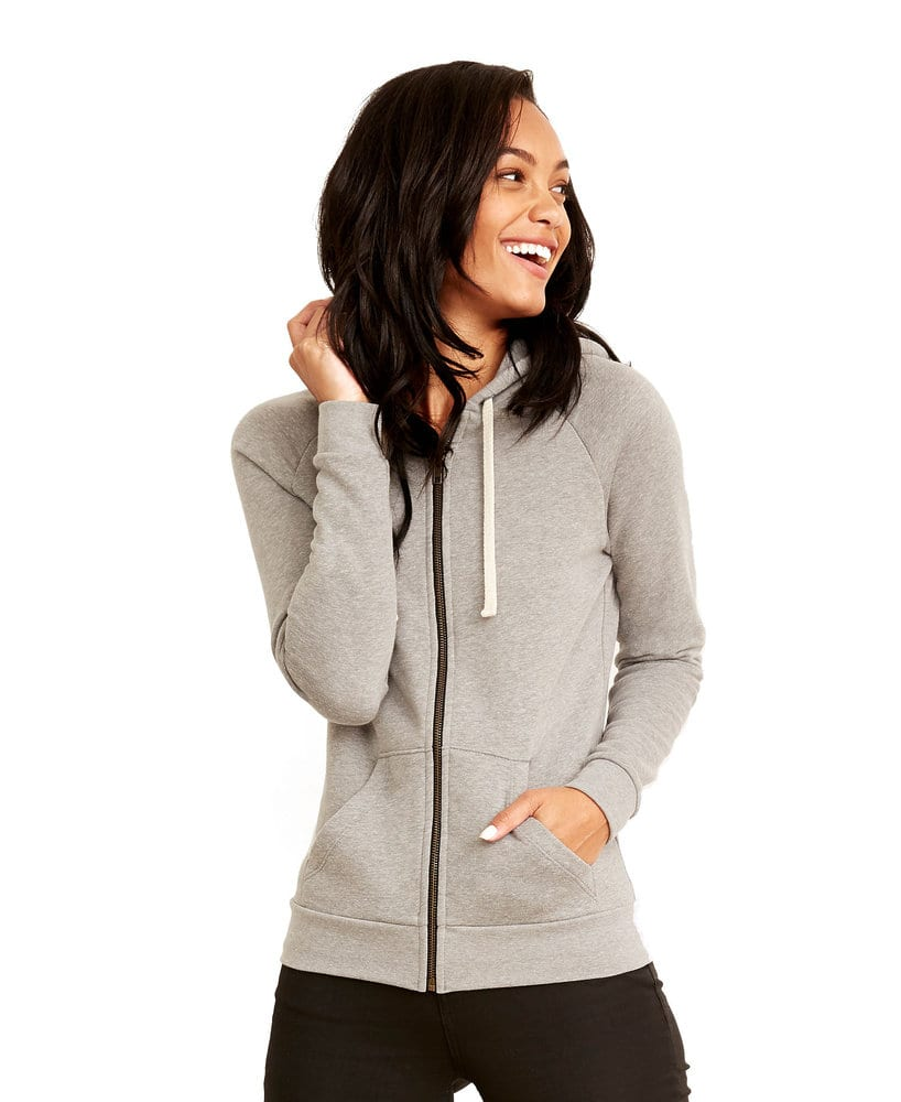 Next Level NL9603 - Women's PCH Raglan Zip Hood