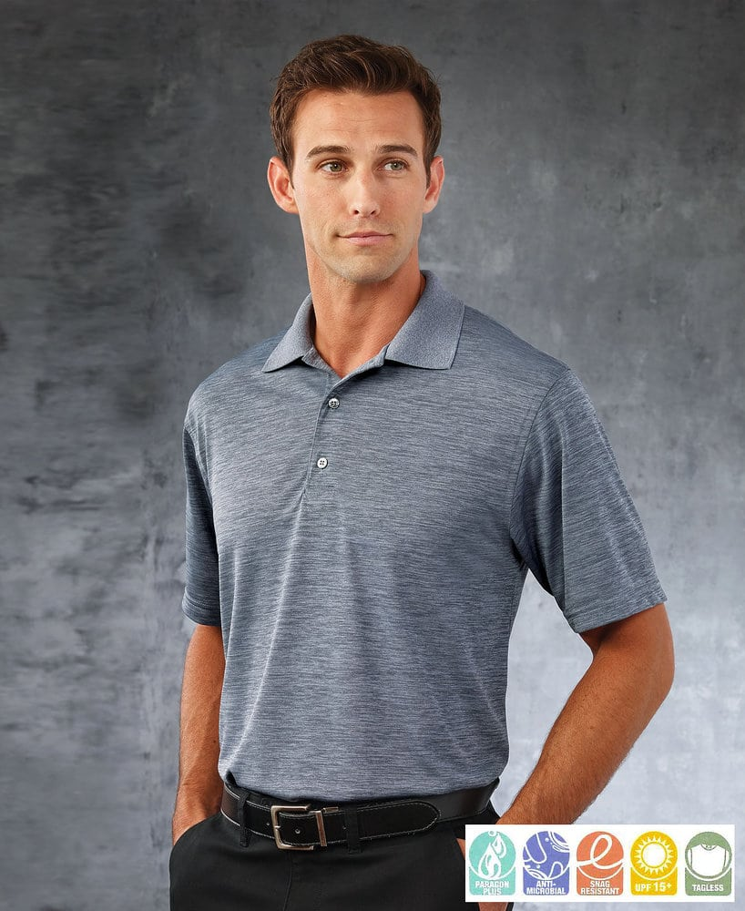 Paragon SM0130 - Camisa Polo de rendimiento para adultos