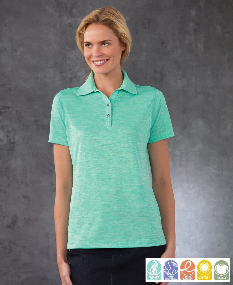 Paragon SM0131 - Ladies' Performance Striated Polo