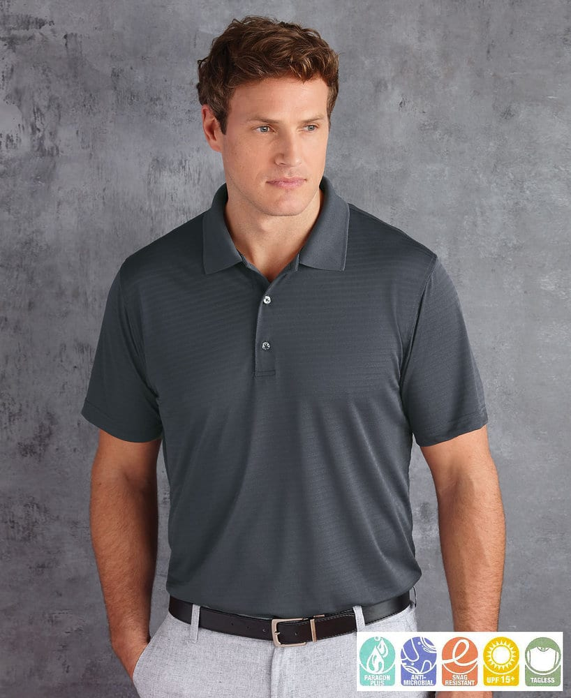 Paragon SM0140 - Adult Shadow Stripe Sport Shirt