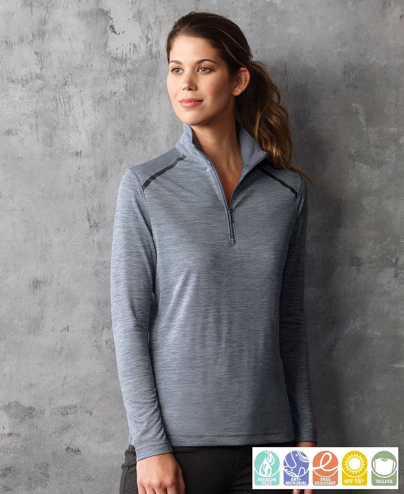 Paragon SM0161 - Ladies' Performance 1/4 Zip Pullover