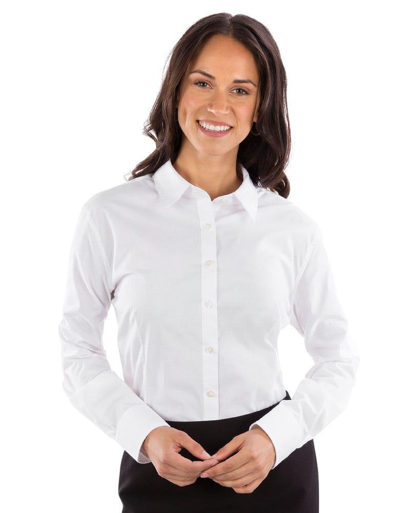 VanHeusen 13V0429 - Ladies' Extreme Color Long Sleeve Shirt
