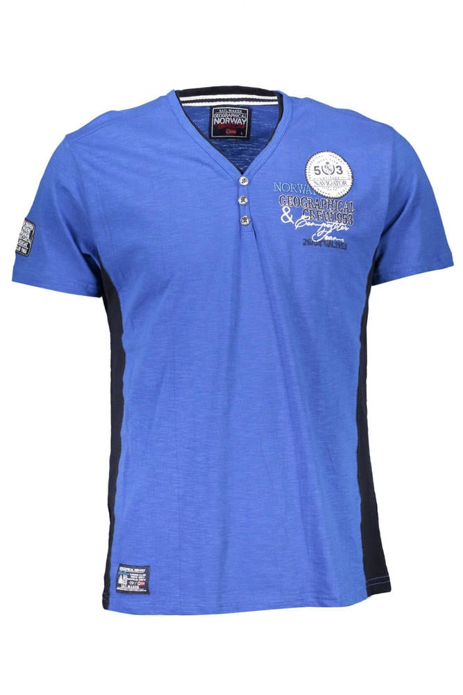 GEOGRAPHICAL NORWAY JONGO - Tricot avec les manches courtes  Homme