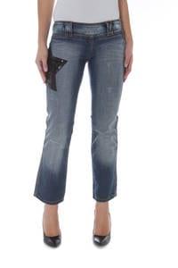 PHARD P17022404123LL QUINN - Pantacourt Jeans  Femme