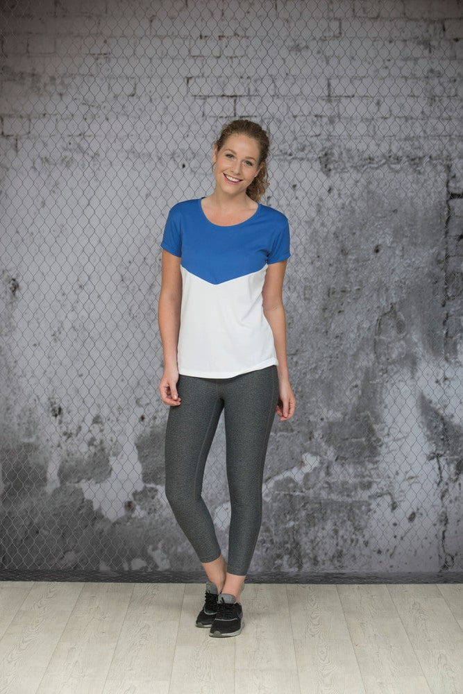 Lemon & Soda LEM6000 - T-shirt Contrast Sport SS for her
