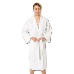 Q-Tees BR70 - Italian Waffle Weave Bath Robes