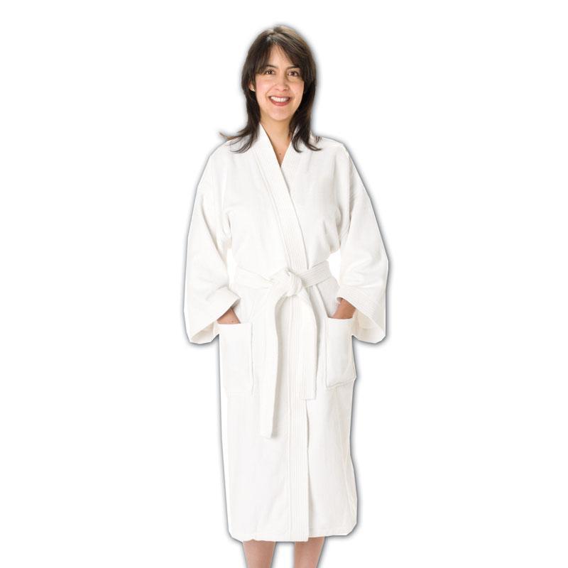 Q-Tees BR90 - Velour Luxurious Bath Robes