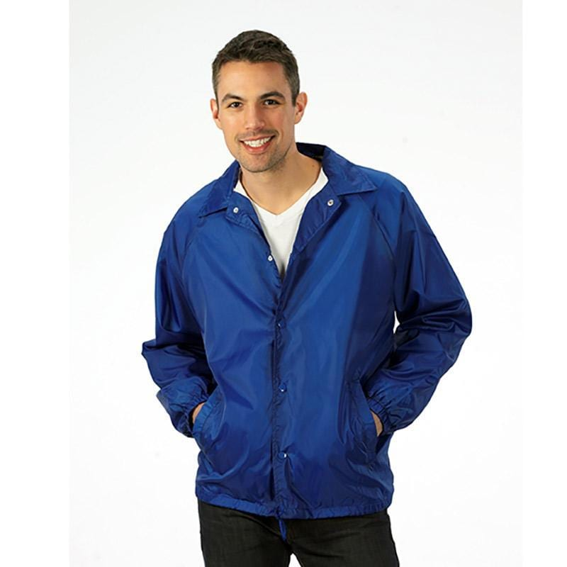 Q-Tees P201 - Lined Coach's Jacket - Adult