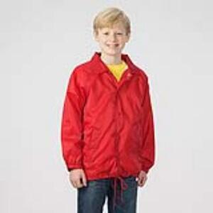 Q-Tees P201B - Lined Coachs Jacket - Youth