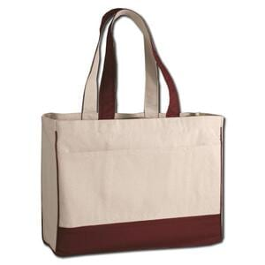 Q-Tees Q1400 - Cotton Canvas Tote