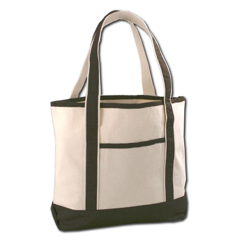 Q-Tees Q1500 - Large Canvas Deluxe Tote