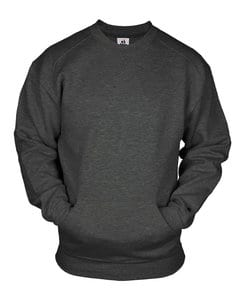 Badger BG1252 - Adult Pocket Crew Fleece