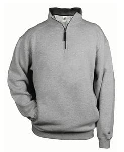 Badger BG1286 - Adult 1/4 Zip Fleece Pullover