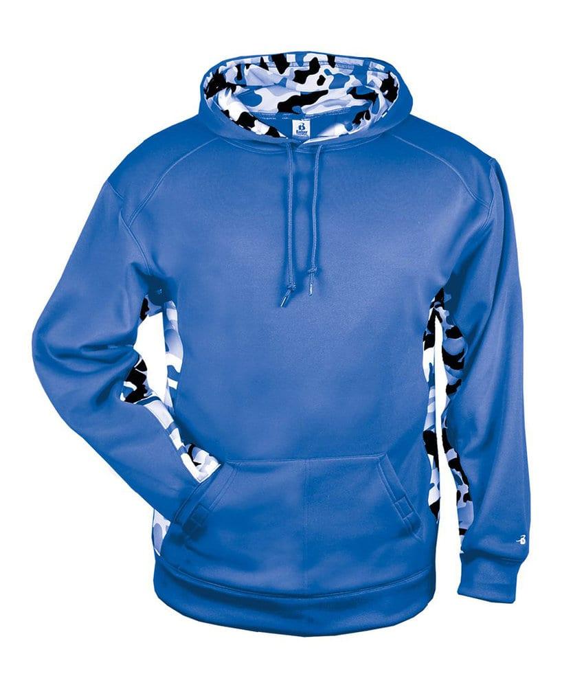 Badger BG1469 - Adult Camo C/B Fleece Hood