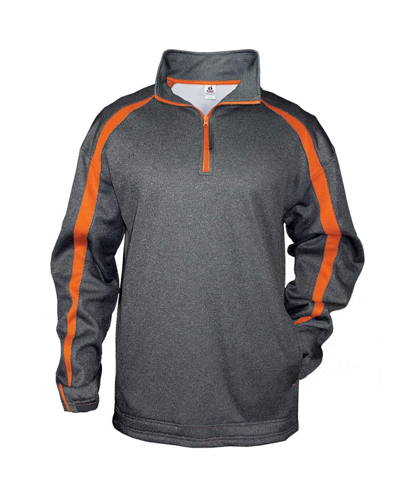 Badger BG1481 - Adult Fusion 1/4 Zip Fleece