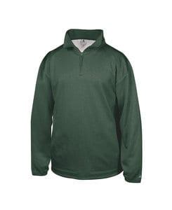 Badger BG1483 - Adult Pro Heather Fleece 1/4 Zip